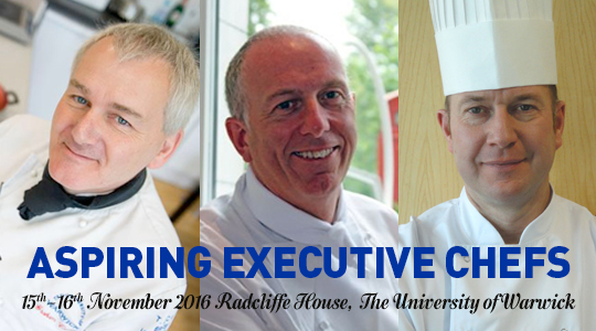 Aspiring Executive Chefs 15th – 16th November 2016