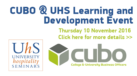 CUBO & UHS Learning and Development Event: Thursday 10 November 2016