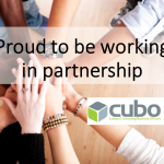 Proud to be working in partnership with CUBO